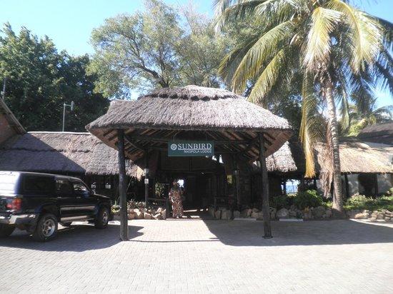 Sunbird Nkopola Lodge : entrance