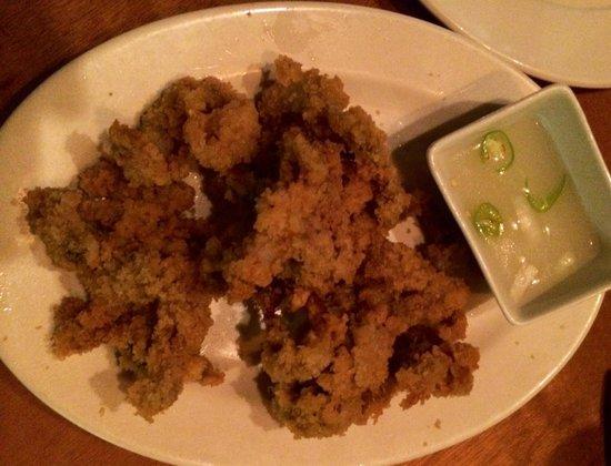 Kinabuch Grill & Bar: Breaded tamilok