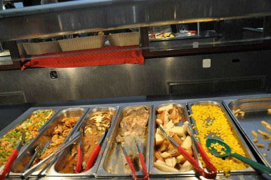 Sol Cayo Guillermo: Lunch selections at buffet