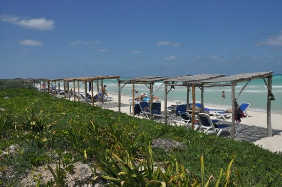 Sol Cayo Guillermo: Huts at the beach