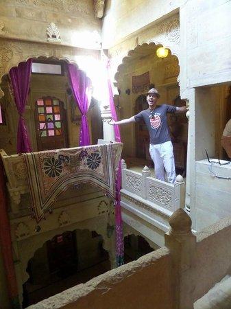 Hotel Garh Jaisal Haveli : Outside the rooms