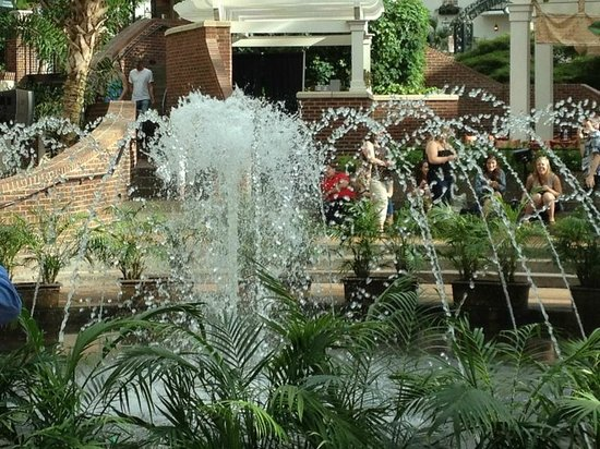 Gaylord Opryland Resort Gardens: Central Fountain