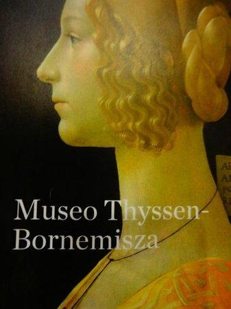 Musée Thyssen-Bornemisza : detalhe