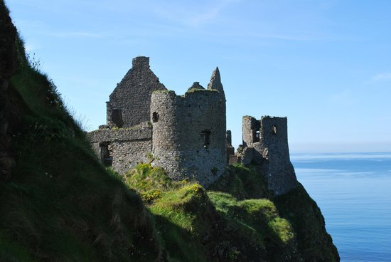 Quick Stop at the Dunluce Castle