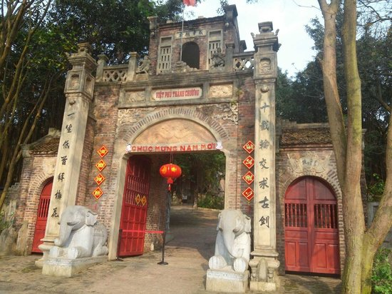 Thanh Chuong Viet Palace: The Gate