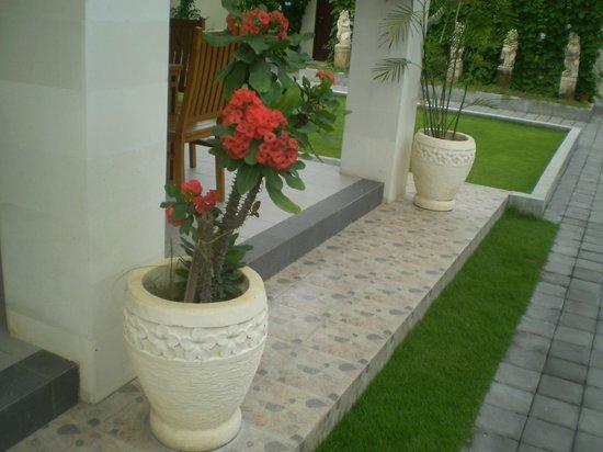 R & R Bali Bed and Breakfast Suites: Garden