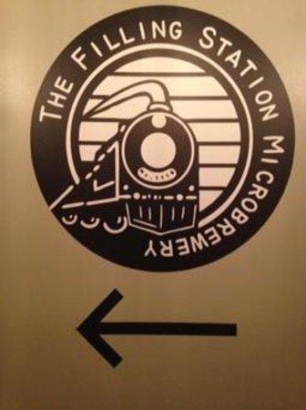 The Filling Station: near entrance