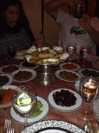 Le Ziryab : dinner