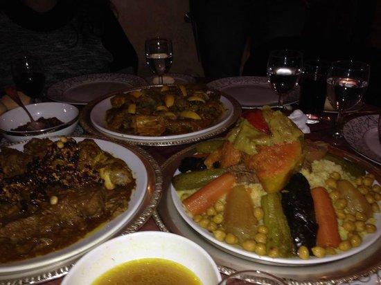 Le Ziryab : Food