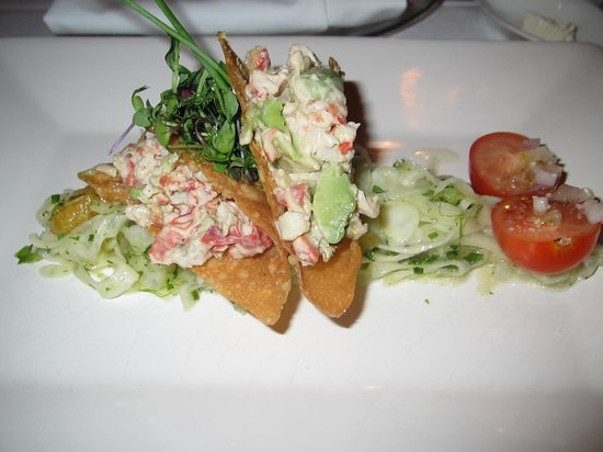 The Inn at Weston: Maine Lobster and Avocado Wontons