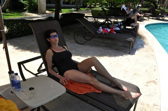 Dreams Palm Beach Punta Cana : We didn't have to fight for chairs. I hate that at resorts.