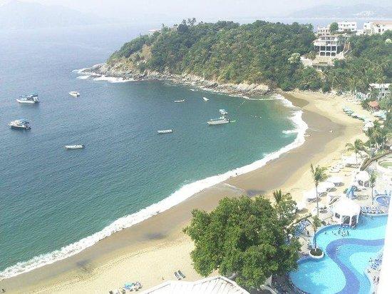 Tesoro Manzanillo: Vista desde mi habitaciòn