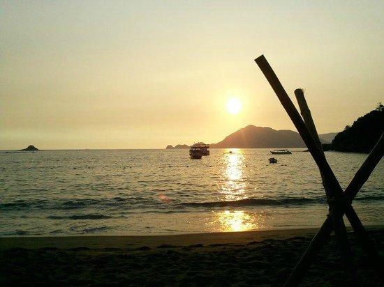 Tesoro Manzanillo: Hermosa puesta de sol