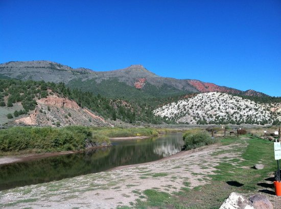 Cutthroat Anglers: A scenic view at the end of the trip