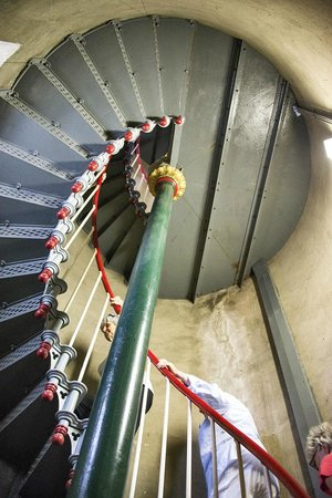 Split Point Lighthouse: INTERNAL LIGHT HOUSE STAIRS