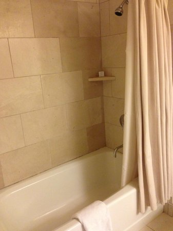 Hotel Vitale, a Joie de Vivre hotel : Tub/shower combos in Newer hotels...a thing of the past