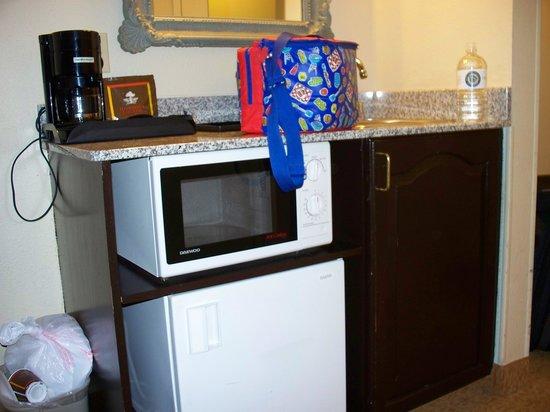 Comfort Inn & Suites Lithia Springs: Micro and Fridge
