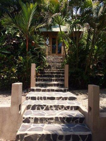 Hotel Moana : welcoming entrance