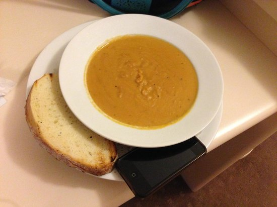 Best Western Southgate Motel : Meals were of generous size - gigantic soup