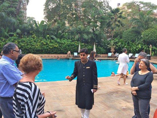 The Taj Mahal Palace, Mumbai: Tour by Viren D'Sa