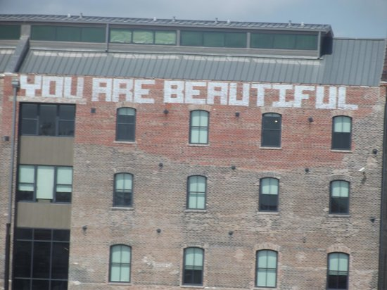 """Creole Queen Mississippi River Cruises: """"You Are Beautiful"""" building"""