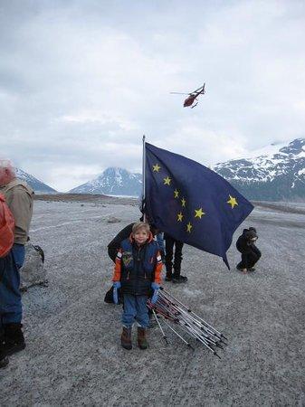 Adventure Bound Alaska Tracy Arm Glacier Cruise : On the glacier