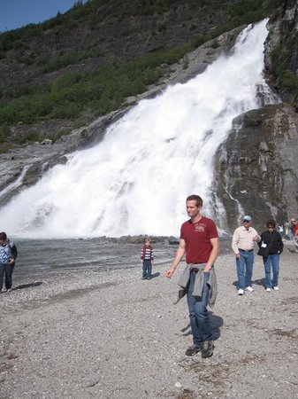 Adventure Bound Alaska Tracy Arm Glacier Cruise : Waterfall