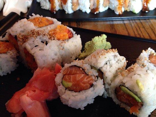 Yamato Sushi: Sooooo much fish....