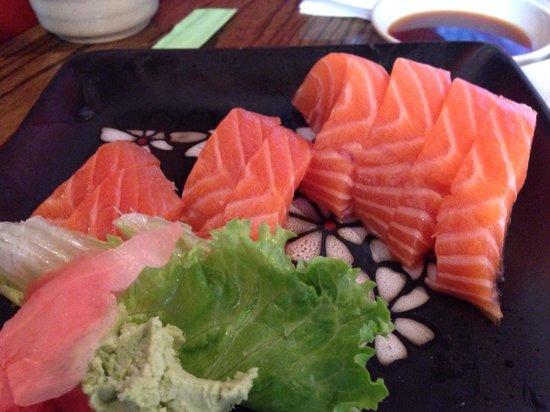 Yamato Sushi: Each piece of sashimi is about 2 ounces... Amazing!