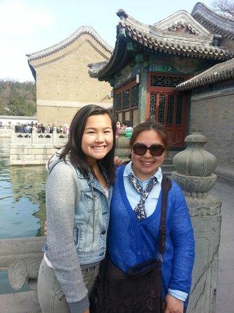 Catherine Lu Tours: Joyce at Summer Palace Spring 2014