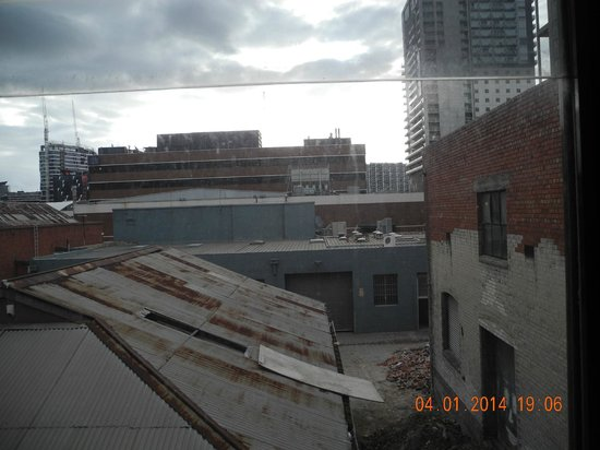 Hotel Sophia: вид из окна