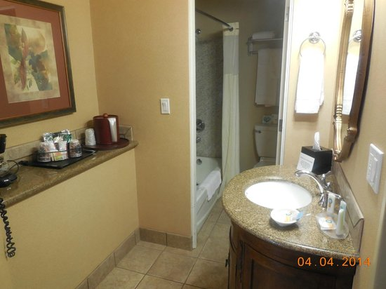 Quality Inn & Suites Airport: newly remodeled bathroom