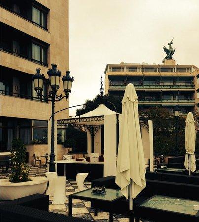Gran Melia Victoria: вид из отеля