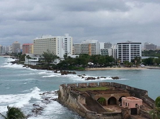 Caribe Hilton San Juan: View from Main Building