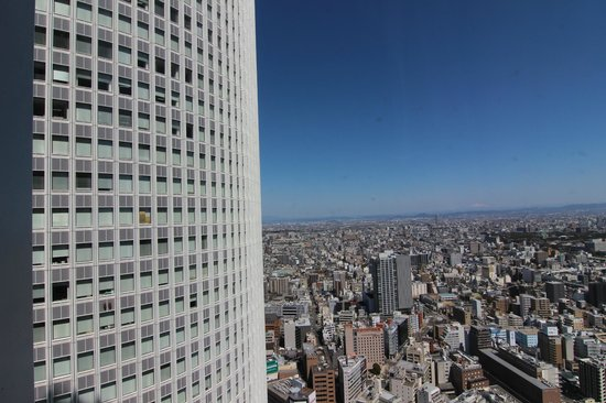Nagoya Marriott Associa Hotel : higher floor can see the whole view of NGO