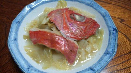 Komadoriso: キンメダイとキャベツ煮。柔らかいスープが最高です!