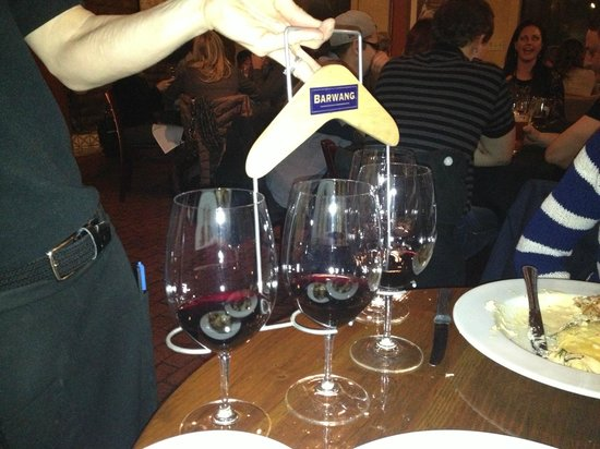 Indigo Crow Cafe : the wine flight
