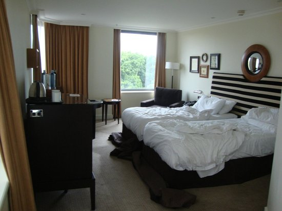 Sheraton on the Park, Sydney : Hyde Park View Room