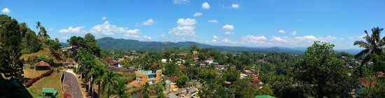 Tourmaline Hotel : Panorama of view from the room