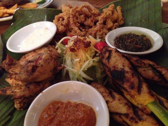 Ole Ole Bali: Bali trio-starter. Good for sharing