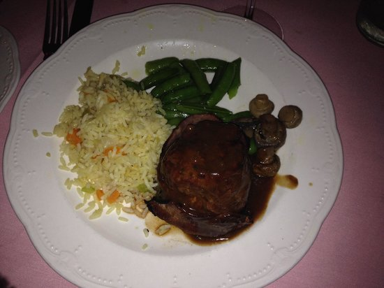 Alex Madonna's Gold Rush Steak House: French filet mignon, so delicious!