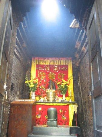 Po Nagar Cham Towers: Linga & Shrine inside one of the towers.
