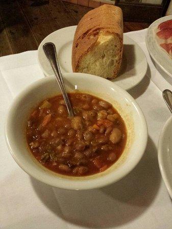 Ristorante Al Grottino: Fagioli (antipasto)