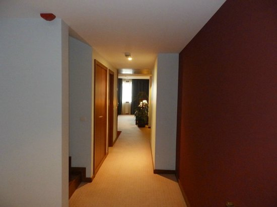 Holiday Inn Porto Gaia : Downstairs hallway - business suite