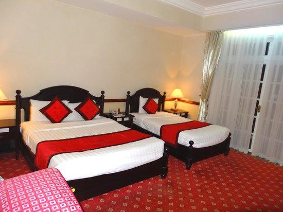 Sammy Dalat Hotel: Chambre triple