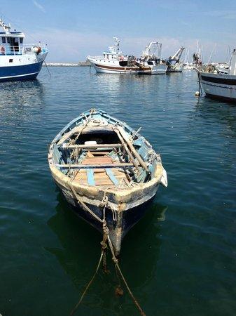 Hotel La Scogliera: porto di Forio