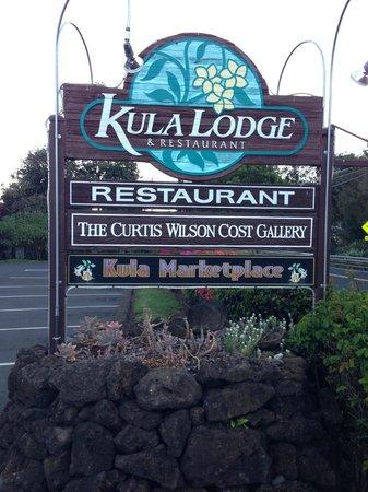 Kula Lodge: 看板