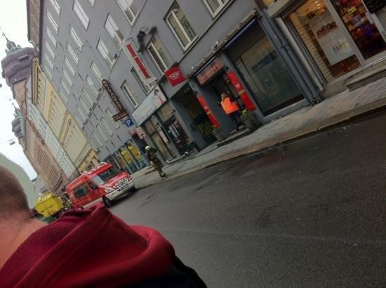 Thon Hotel Astoria : eind van ons verblijf brandalarm