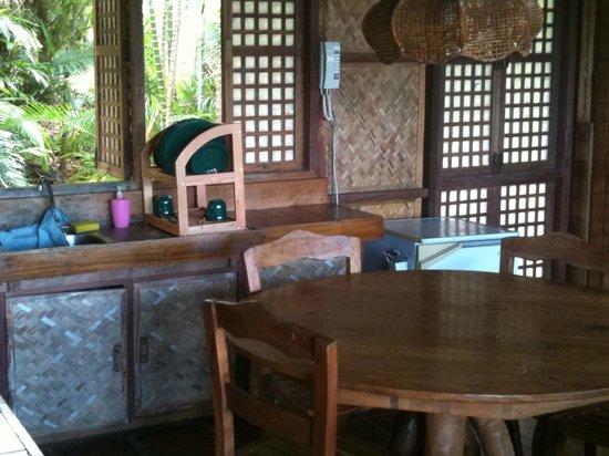 Kalaw's Place: part of the room, kitchen
