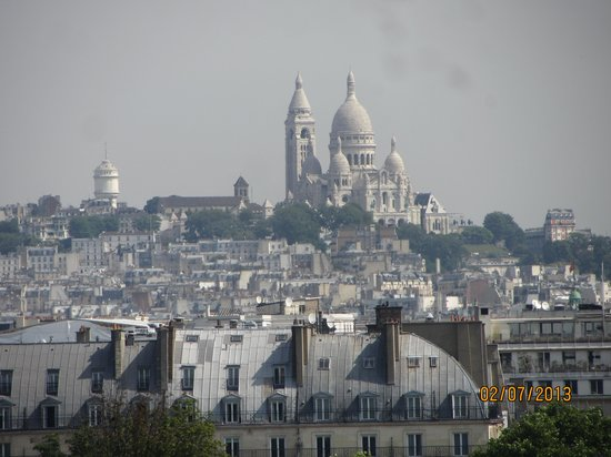 Musée d'Orsay : Вид с балкона музея